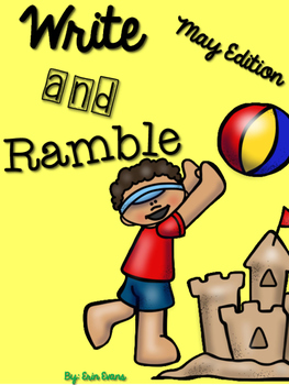 Write and Ramble - Math and Literacy Write the Room (May Edition)