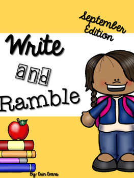 Write and Ramble - Math and Literacy Write the Room (September Edition)