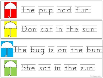 Write and Read The Room Short Vowel BUNDLE