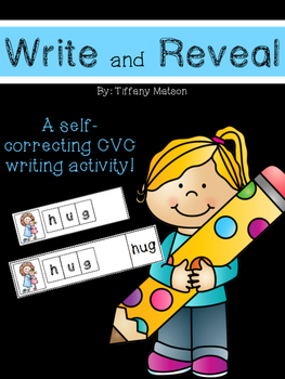 CVC Words {Write and Reveal}