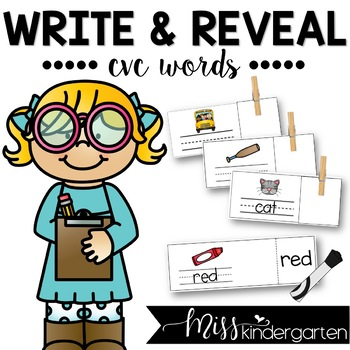 Write and Reveal {CVC words}