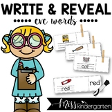 CVC Words | Write and Reveal