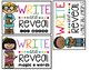 Write and Reveal Label Organization {freebie}
