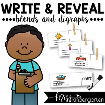 Write and Reveal {blends and digraphs}