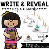 Write and Reveal {magic e words}