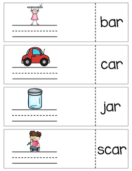 Write and Reveal {r-controlled vowels}
