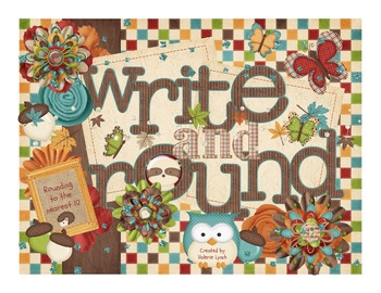 Write and Round: Rounding 2-digit and 3-digit numbers to the tens place