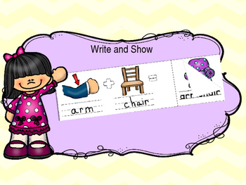 Write and Show Compound Words