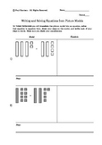 Write and Solve Algebraic Equations when Given a Model