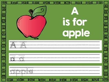 Write and Wipe - Alphabet