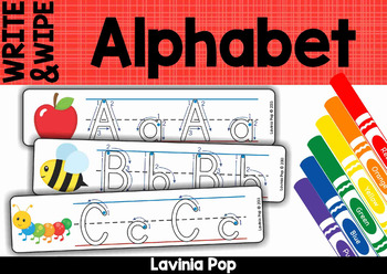 Alphabet Write and Wipe with Correct Letter Formation