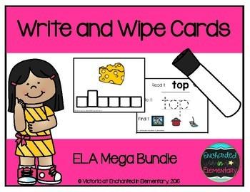 Write and Wipe Cards: ELA Mega Bundle