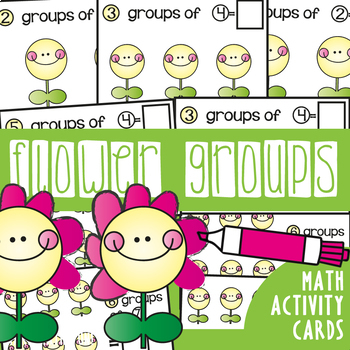 Groups of {Multiplication} Write and Wipe Cards