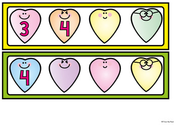 Counting Activity - Heart Number Order {Great for Valentine's Day}