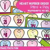 Counting Activity - Heart Number Order {Great for Valentin