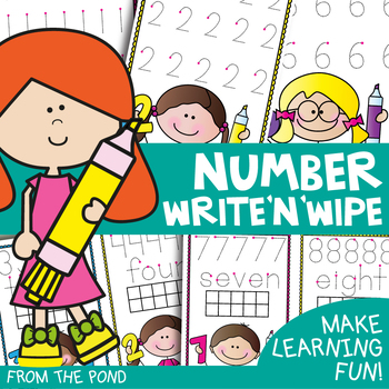 Numbers - Write and Wipe Cards and Boards