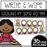 Write and Wipe - Count by 10's