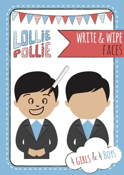Write and Wipe Faces Mats