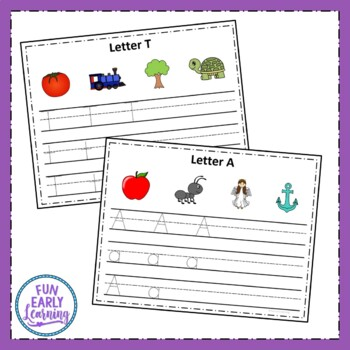 Write and Wipe Letters - Letter Identification, Letter Sounds, Writing