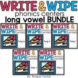 Write and Wipe Long Vowels Bundle