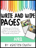 Write and Wipe Pages- April