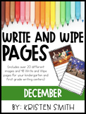 Write and Wipe Pages- December