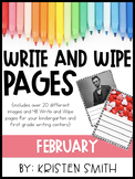 Write and Wipe Pages- February