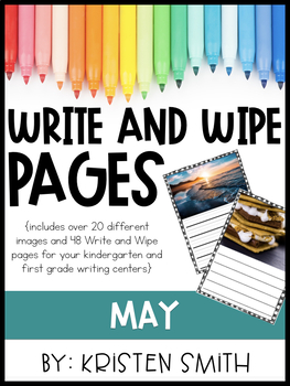 Write and Wipe Pages- May