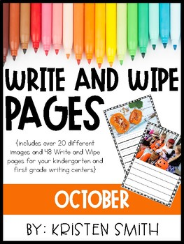 Write and Wipe Pages- October