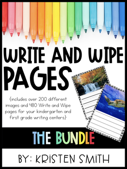 Write and Wipe Pages-- The Bundle!