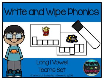 Write and Wipe Phonics: Long I Vowel Teams Set