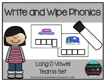 Write and Wipe Phonics: Long O Vowel Teams Set
