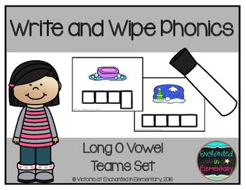 Write and Wipe Phonics: Long O Vowel Teams Set