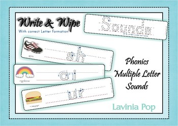 Write and Wipe - Phonics Multiple Letter Sounds