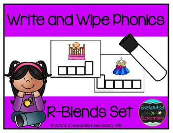 Write and Wipe Phonics: R-Blends Set
