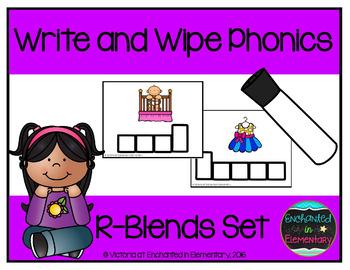 Write and Wipe Phonics: R-Blends Set
