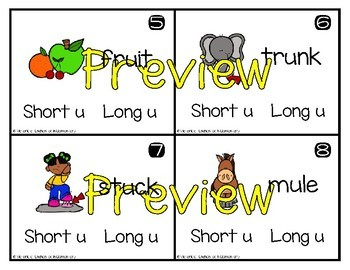 Write and Wipe Phonics: Short and Long Vowels Bundle