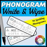 Spalding Phonogram Write and Wipe Cards
