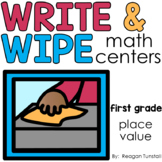 Write and Wipe Place Value First Grade