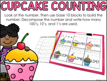 Write and Wipe Place Value Second Grade
