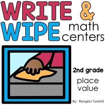 Write and Wipe Second Grade Bundle