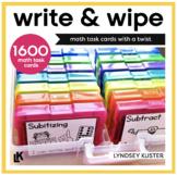 Write and Wipe - The Math Bundle