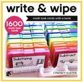 Write and Wipe - The Math Bundle