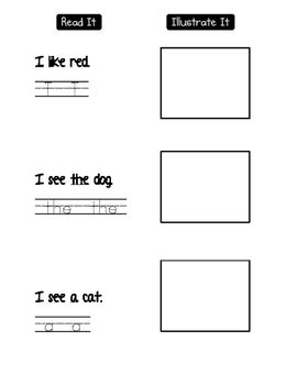 Write, find, graph, read, illustrate it A I THE