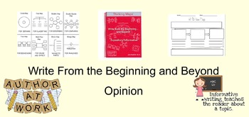 Write from the Beginning: Opinion