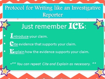 Write like an Investigative Reporter: An Intro to Writing with Evidence