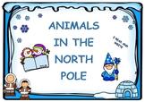 Write noun animals NORTH POLE / Escritura animales POLO NORTE