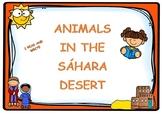 Write noun animals SAHARA DESERT / Escritura animales DESI