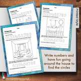 Write Numbers and Draw Squares Handwriting Sheets