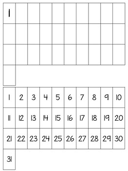 Write numbers to 31 Practice